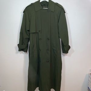Anne Klein 4P Vintage Trench Coat